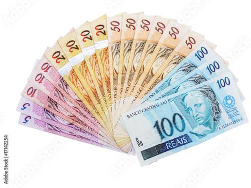 Fotografía  Leque dinheiro Reais