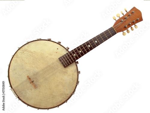 Fotografia, Obraz  Vintage Six String Banjo