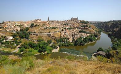 Fototapeta na wymiar Toledo, general view, Spain