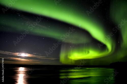 Spoed Foto op Canvas Canada Nordlicht