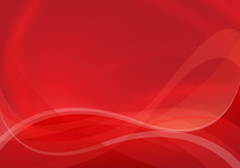 Red Abstract Love Background
