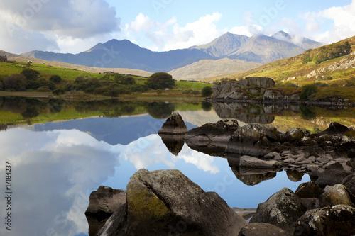 Obraz na płótnie Snowdonia