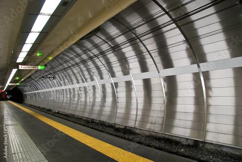 Fotografía Tunnel metropolitana Roma