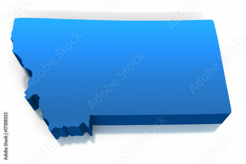 united states montana map outline buy this stock illustration and