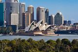 Sydney Opera House i Skyline