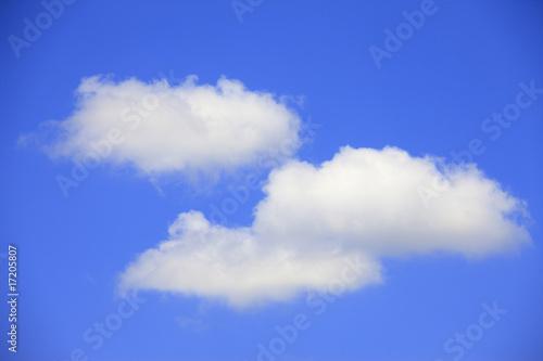 Foto op Plexiglas Hemel 青空と白い雲
