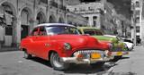 Kolorowe Hawana samochody