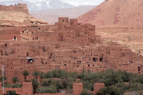 Poster Maroc Marocco
