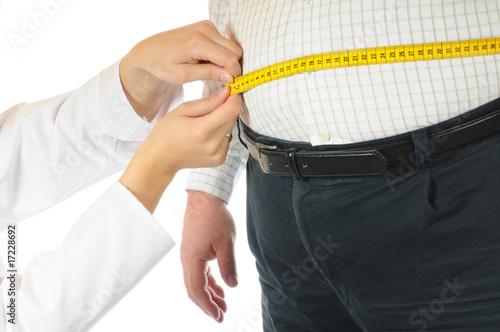 Fotografie, Obraz  Übergewicht