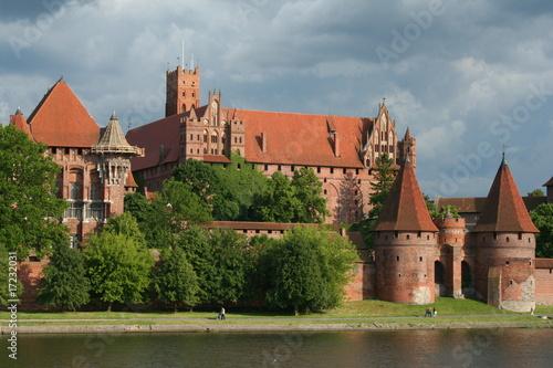 Fototapety, obrazy: Castle Malbork in Poland