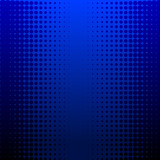 Darkblue halftone vector background
