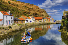 Staithes Harbor