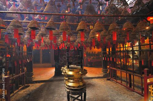 Wall Murals Temple Hong-Kong