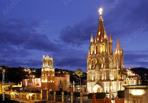 Fototapeta premium San Miguel de Allende w Meksyku.