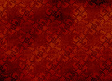 Chinese Red Textured Pattern I...