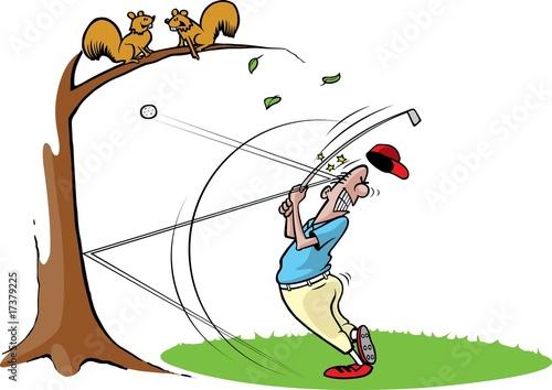 Платно Goofy Golfer 2