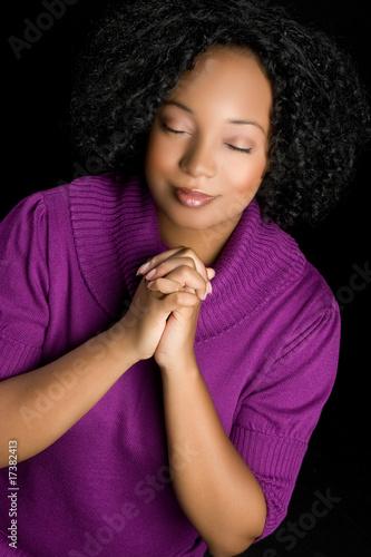 Fotografie, Obraz  Woman Praying