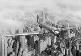 DC-3 Over NYC - 17391810