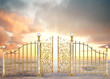 canvas print picture - Pearly Gates Landscape