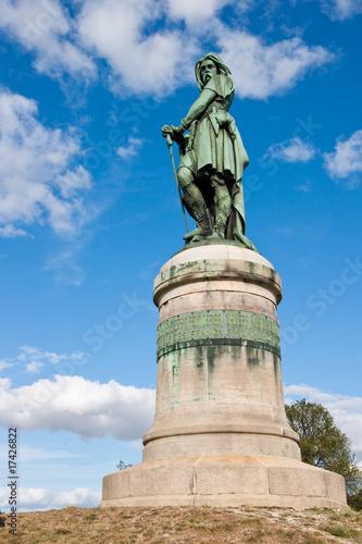 Fototapeta Statue de Vercingetorix