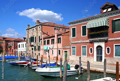 Stickers pour porte Venise Murano