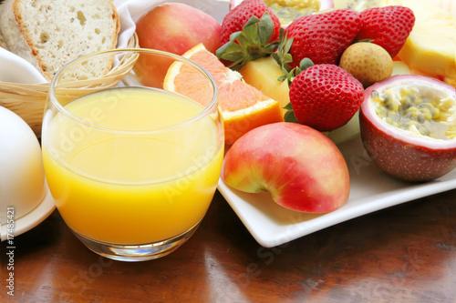 Foto op Canvas Sap Fresh Fruits