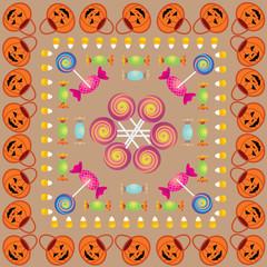 Halloween Pattern Three