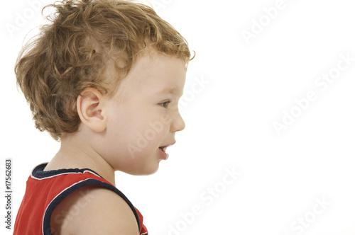 Fényképezés Portrait of the boy
