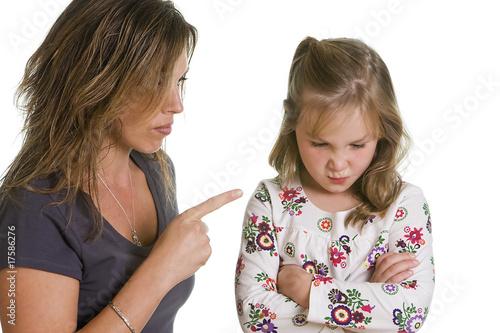 Fotografie, Obraz  Child Discipline