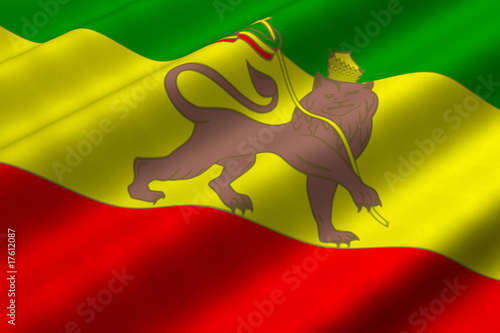 Valokuva  Rastafari Flag