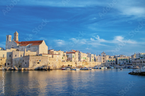 Foto op Canvas Cathedral Cove Panoramic view. Giovinazzo. Puglia.