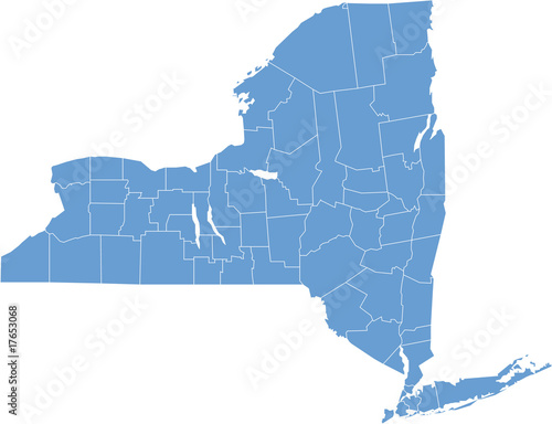 new york map - 17653068