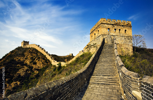 Fotobehang Chinese Muur The great wall