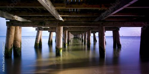Under pier #17668627