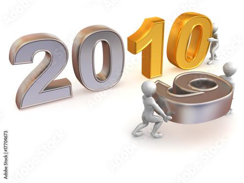 Fotografia  New Year. 2010