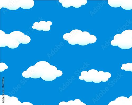 Papiers peints Ciel seamless sky background with clouds