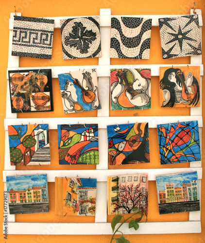 Cadres-photo bureau Graffiti collage Lisbon Craftsmanship 02