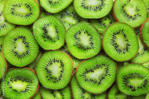 Deurstickers Keuken Kiwi