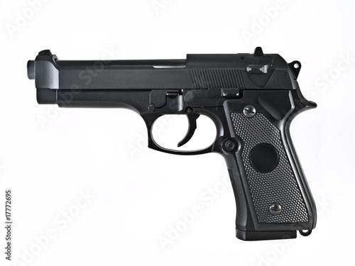gun pistol Canvas Print
