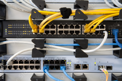 Cuadros en Lienzo Network-Switch