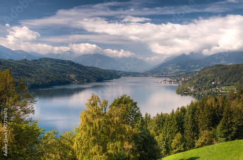 Fotografie, Obraz  Millstättersee lake Millstatt Austria