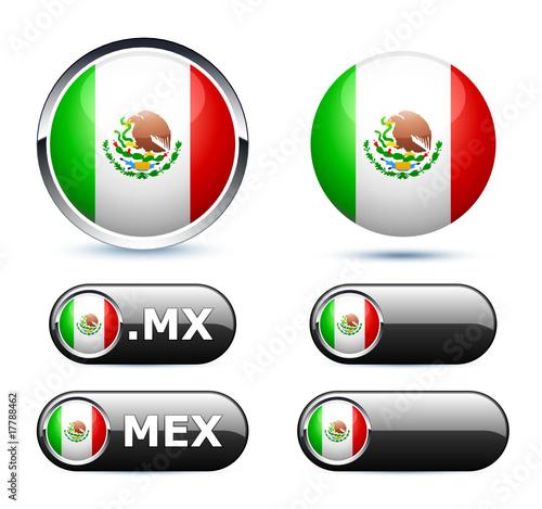 Drapeau Mexique Mexico Flag Buy This Stock Vector And Explore