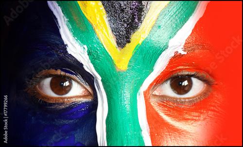 Foto op Plexiglas Zuid Afrika augen_flagge