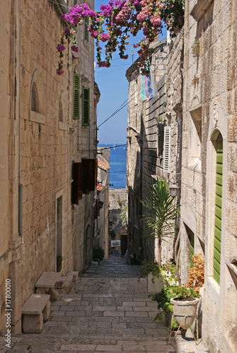 Wall Murals Narrow alley Narrow alley
