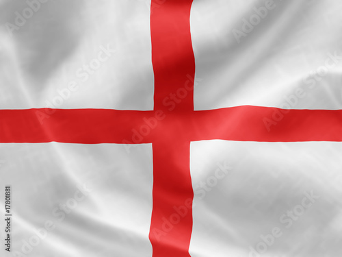 Photo  England St George Cross flag