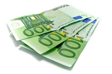3 Billet De 100 Euros