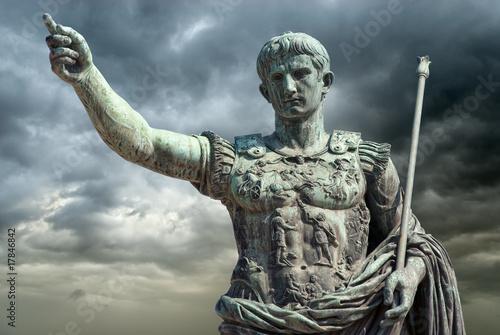 Fototapeta premium Augusto (Gaius Julius Caesar Augustus), Roma