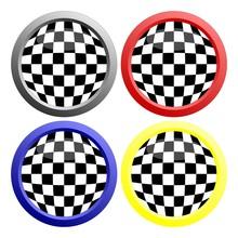 Checkerboard Button