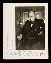 Sir Winston Churchill Postage Stamp