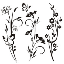 Japanese Floral Designs